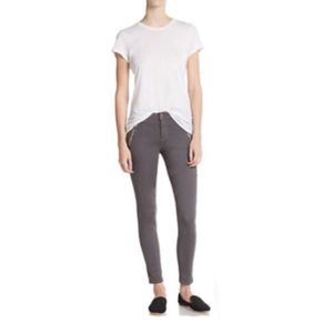 Joe's Jeans with Silver Zippers - Gray - 27